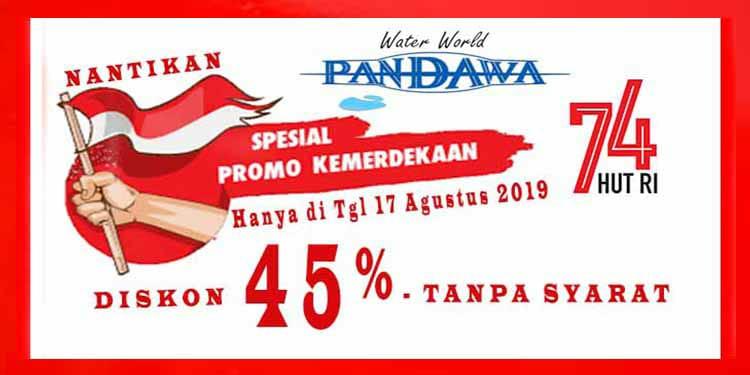 Spesial Promo Kemerdekaan Diskon 45% Tanpa Syarat